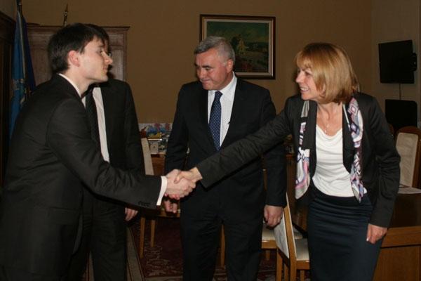 Превод на среща с кмета на София Йорданка Фандъкова